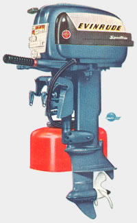 Evinrude 40 HP Big Twin http://britishseagullparts.com/other-outboards/evinrude/models-1956.htm